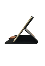 "NVS NVS Apollo Multiview Folio for iPad 10.2"" - Black/Tan"