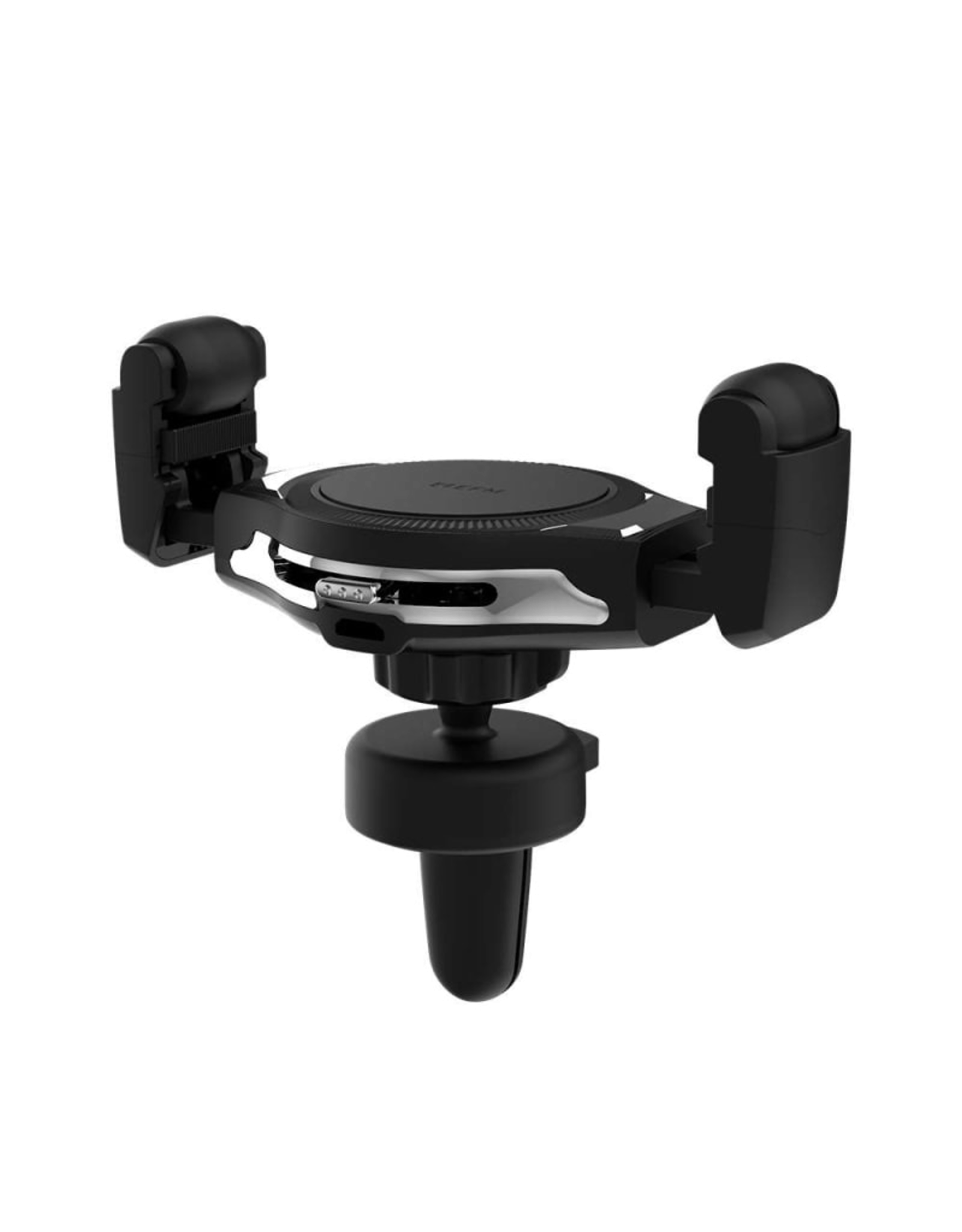 EFM EFM 15W Wireless Vent Mount Charger with Manual Adjustment and 39W Car Charger - Graphite