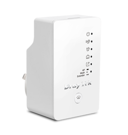 Draytek Draytek VigorAP 802 802.11ac Wave 2 Range Extender/Access Point with Mesh Wi-Fi and wall plug housing