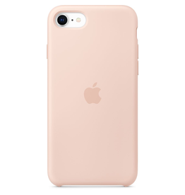 Apple Apple iPhone SE Silicone Case - Pink Sand