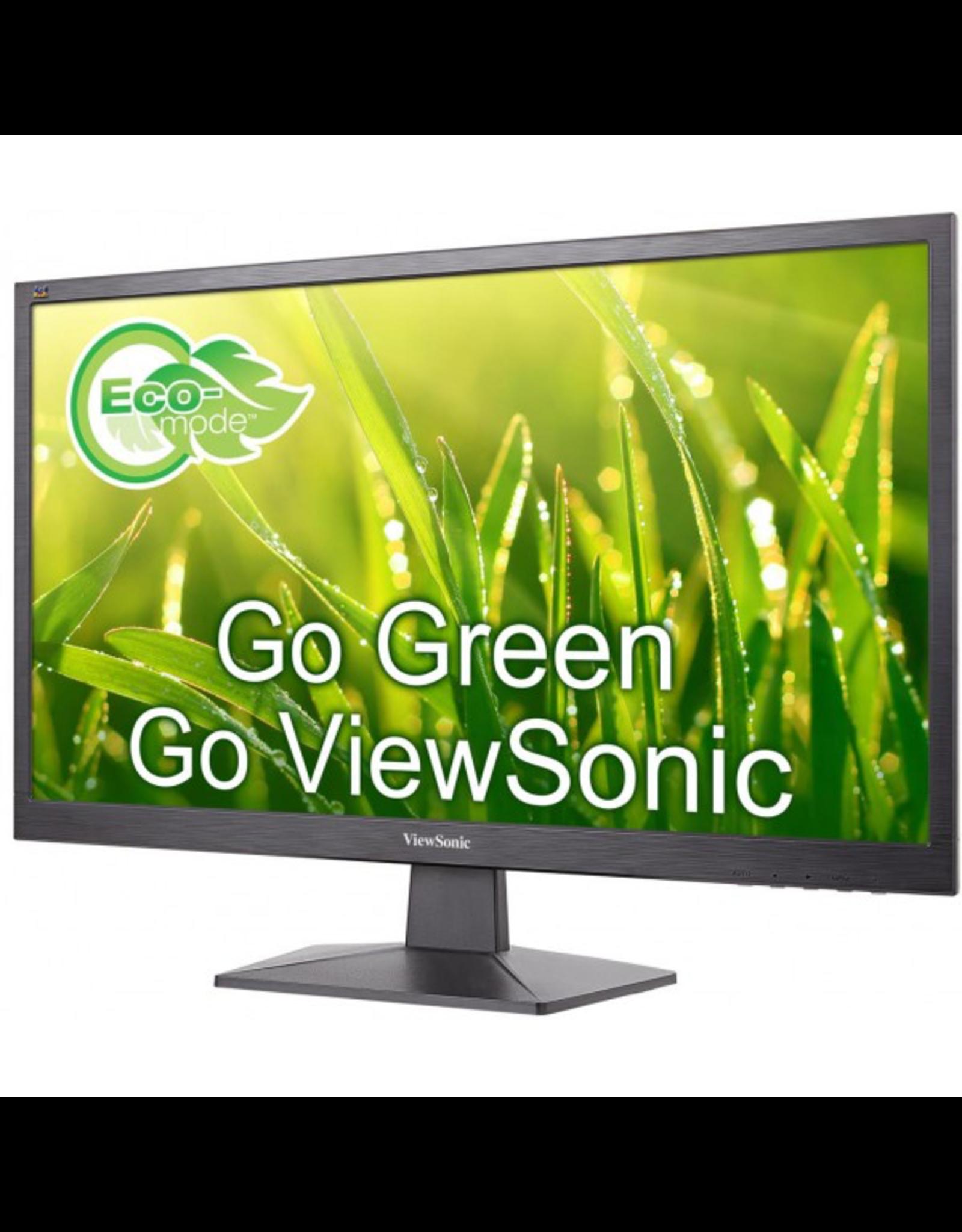 """Viewsonic ViewSonic 24"""" (23.6"""" viewable) 1920x1080  LED Display VGA/HDMI, VESA"""