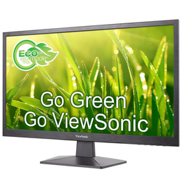 "Viewsonic ViewSonic 24"" (23.6"" viewable) 1920x1080  LED Display VGA/HDMI, VESA"