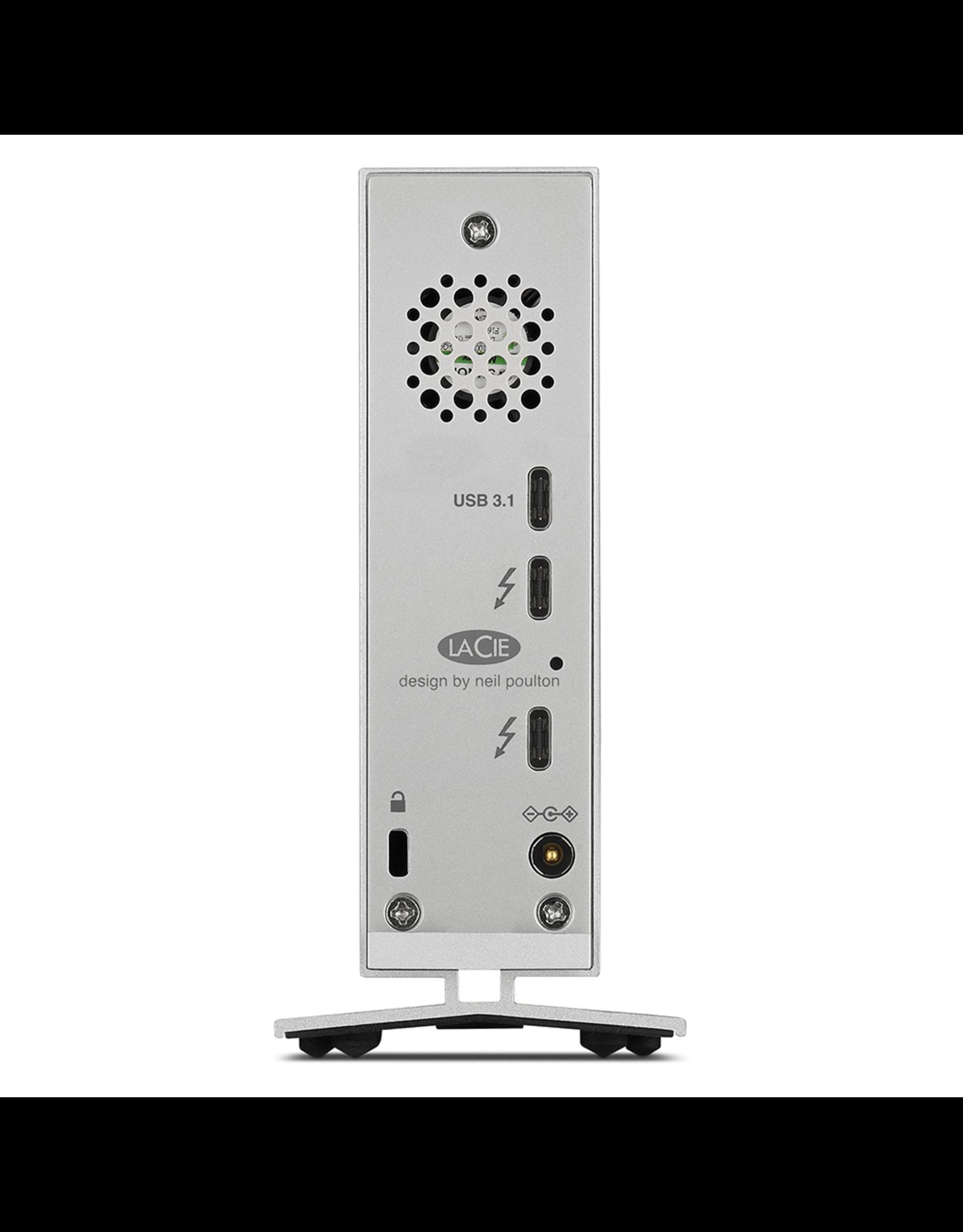 """Lacie LaCie D2 Desktop 3.5"""" 8TB/7200RPM/Thunderbolt3/USB-C"""