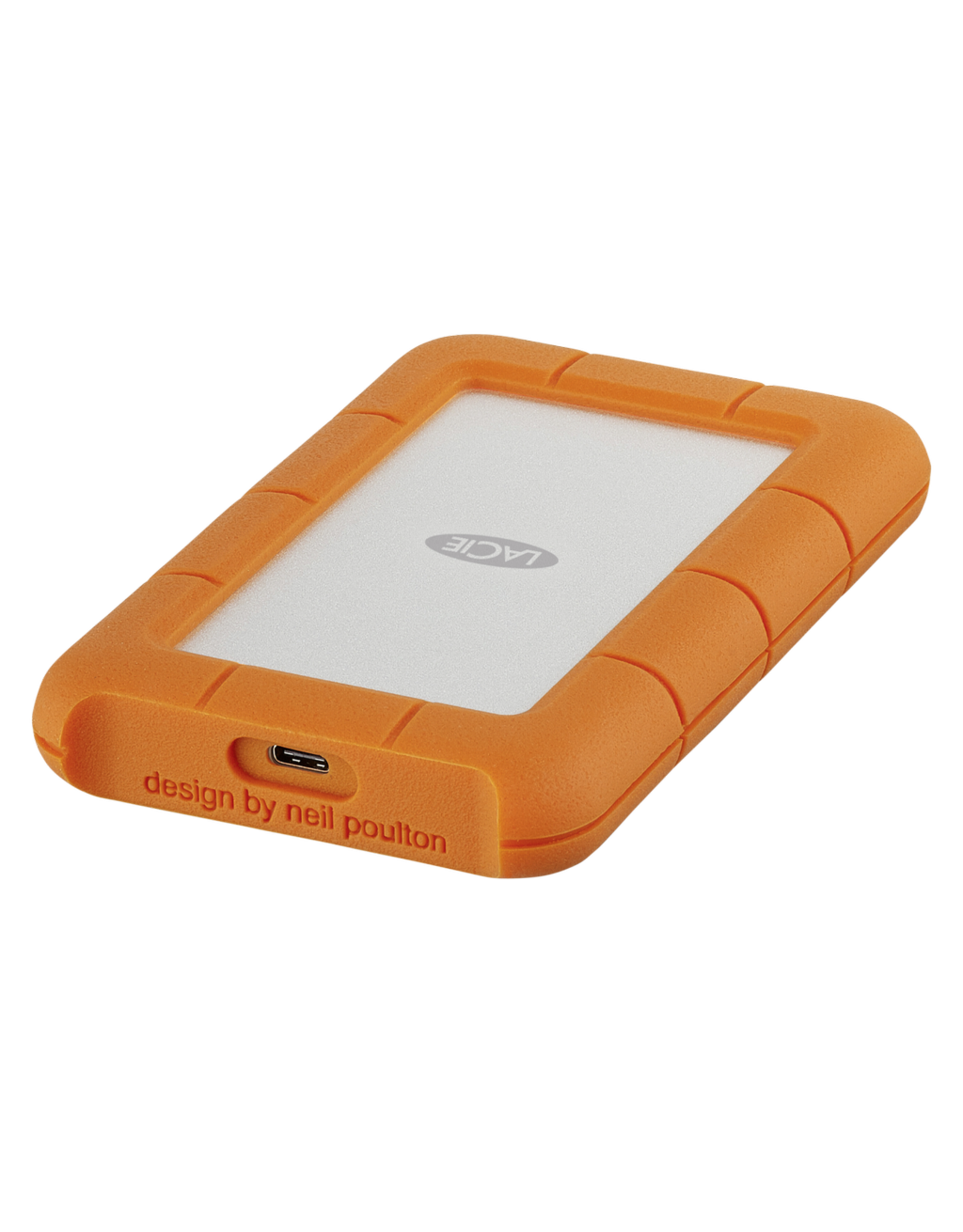 "Lacie LaCie Rugged 2.5"" 4ft Drop Resistant 2TB Thunderbolt/USB-C"