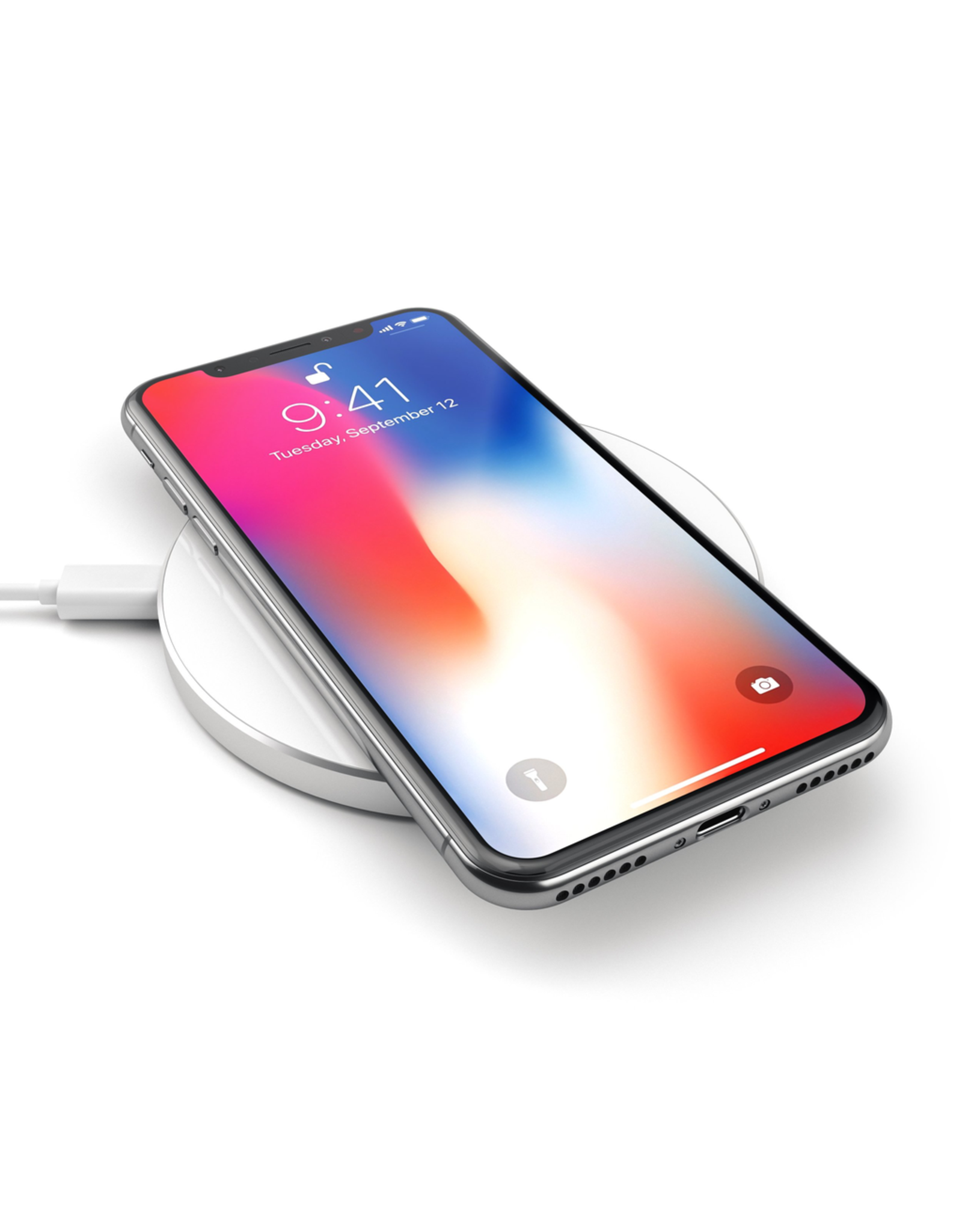Satechi Satechi Fast Wireless Qi Charger - Silver