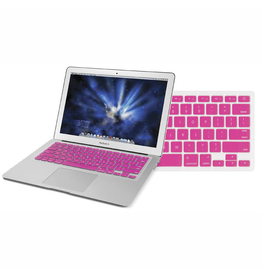 "Newertech NewerTech NuGuard Keyboard Cover Silicone Skin for 2010/11 MacBook Air 13"" - Pink"
