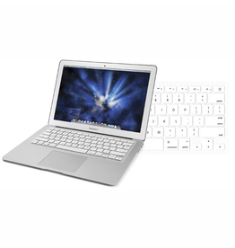 "Newertech NewerTech NuGuard Keyboard Cover Silicone Skin for 2010/11 MacBook Air 13"" - White EOL"