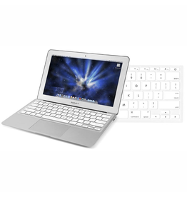 "Newertech NewerTech NuGuard Keyboard Cover Silicone Skin for 2010/11 MacBook Air® 11"" - White"