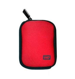 Western Digital WD My Passport Carrying Case Red