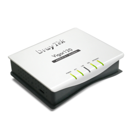Draytek Draytek Vigor120 - ADSL 2+ Router with 1 x LAN port, Firewall and TR-069