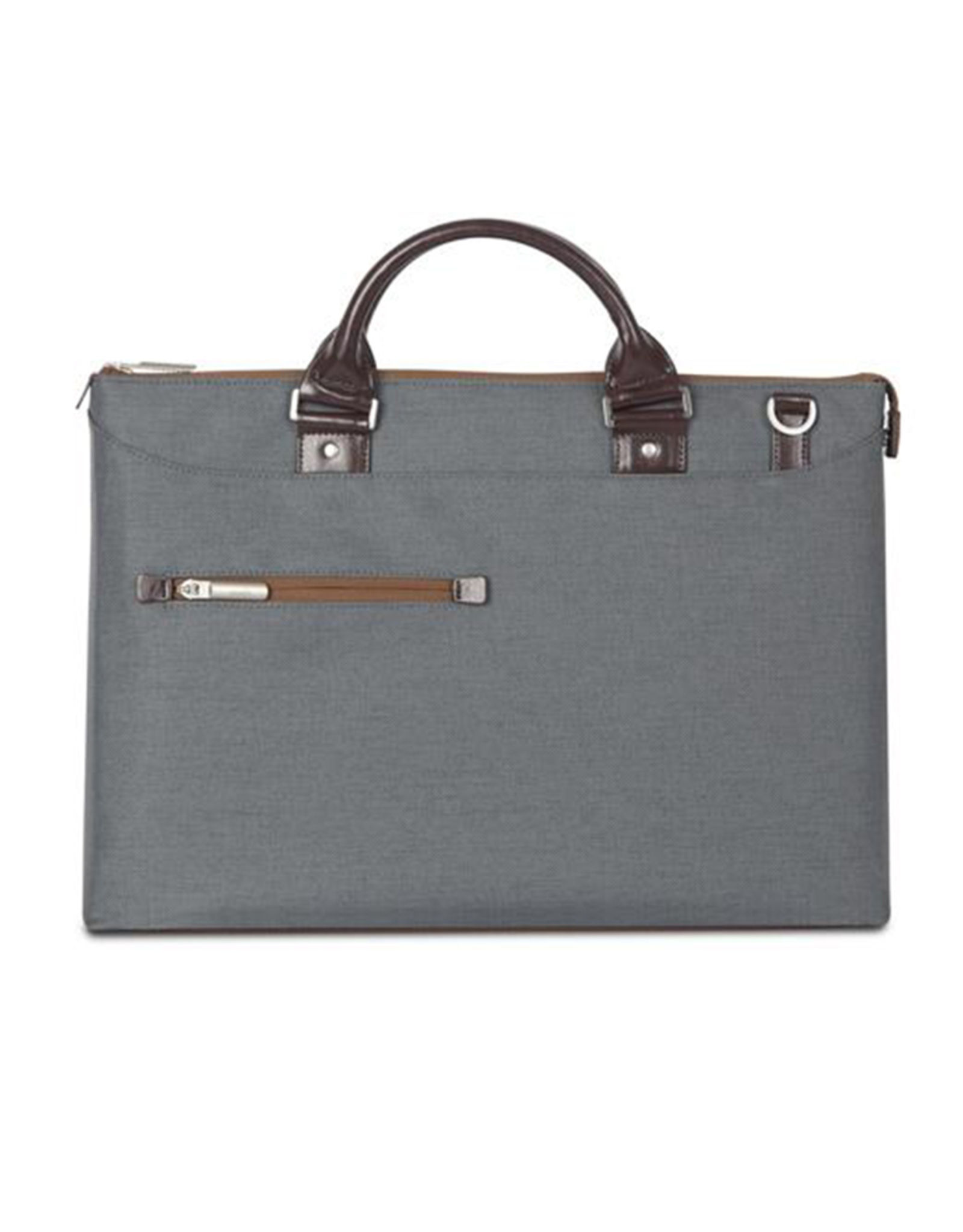 Moshi Moshi Urbana Briefcase for 13-15 laptops + iPad compartment Mineral Grey
