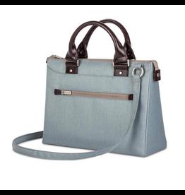 "Moshi Moshi Urbana Mini Briefcase for 11-12"" MacBook/iPad Sky Blue"