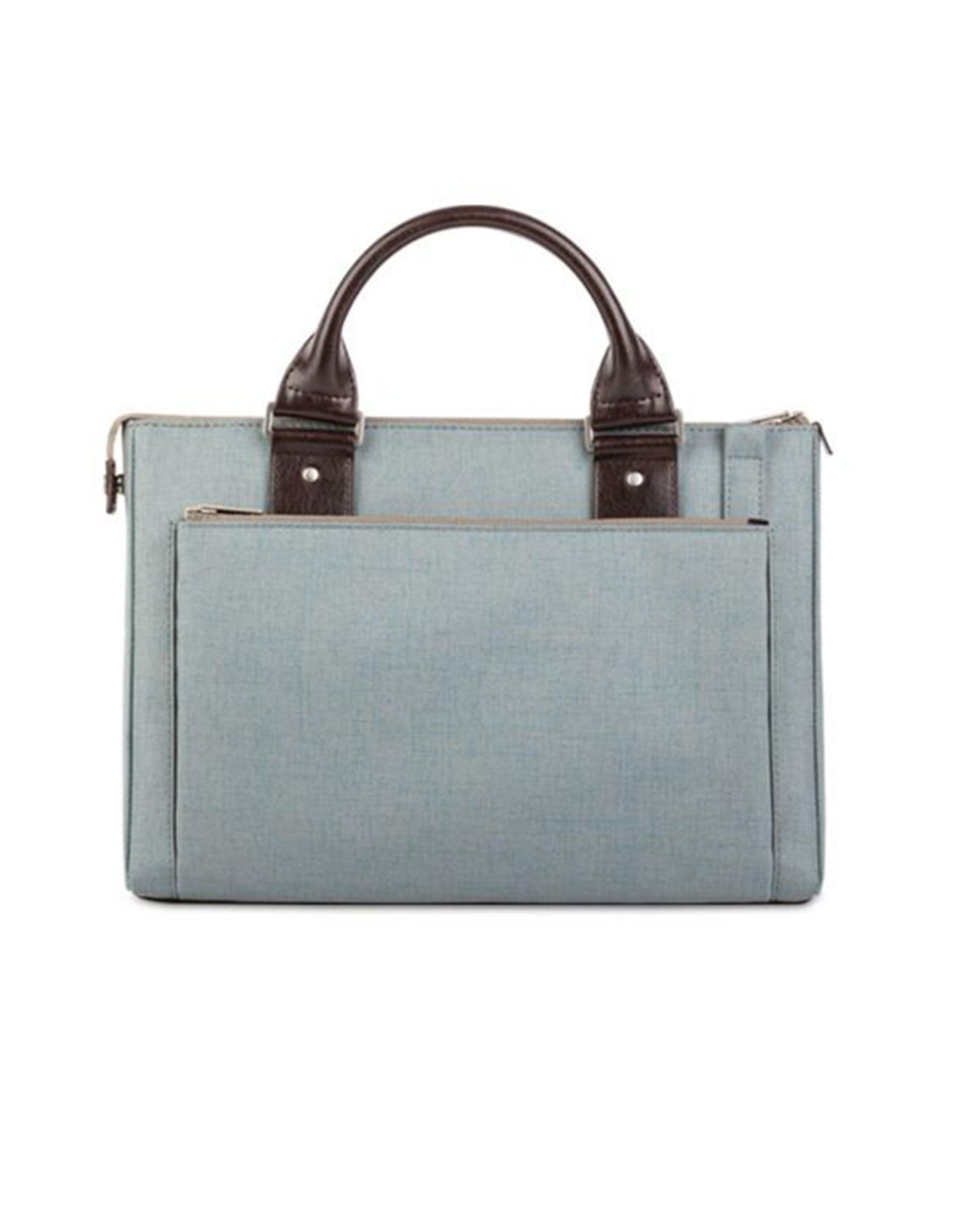 "Moshi Moshi Urbana Mini Briefcase for 11-12"" MacBook/iPad Sky Blue"