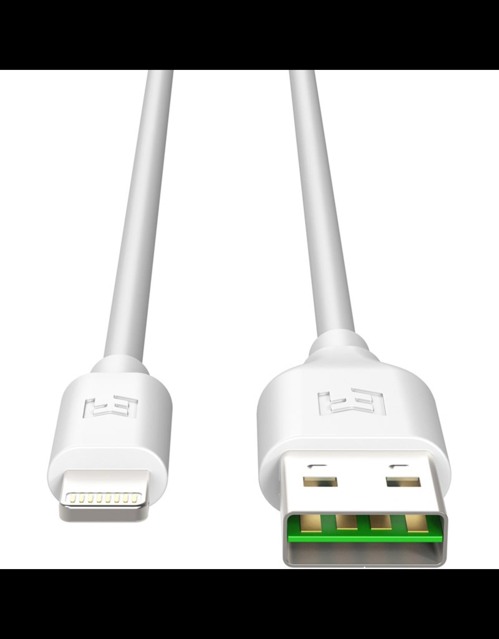 EFM EFM MFi Approved Flipper Lightning Cable 2M - White