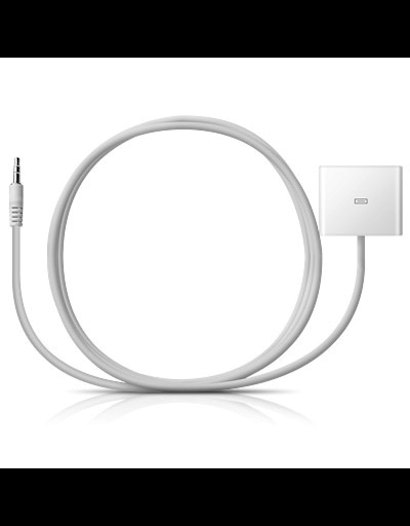 Radtech Radtech - ProCable DockAdapt 3.5mm to 30-pin for iPod Shuffle and other 3.5mm audio devices - White