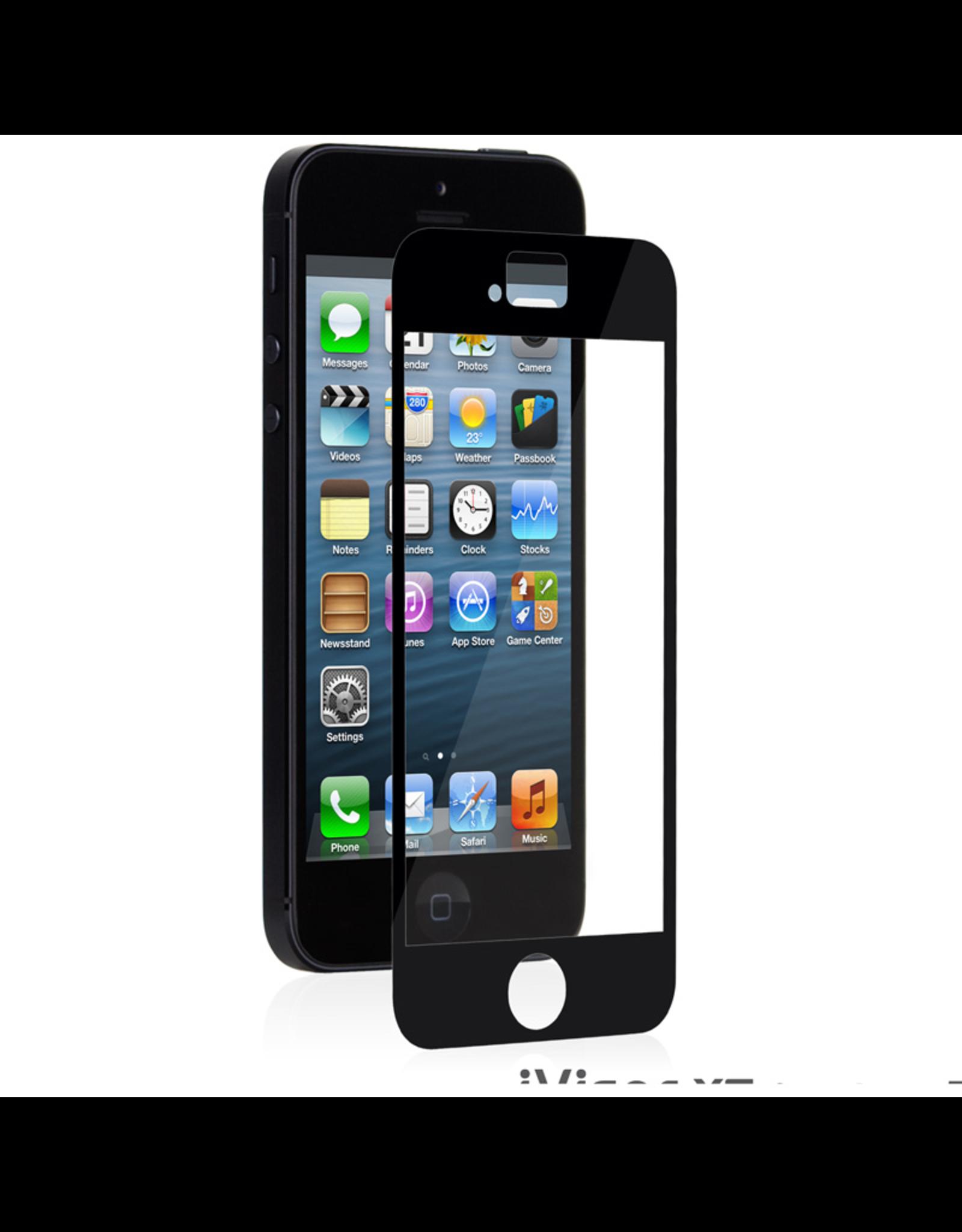 Moshi Moshi iVisor XT Retina Clear for iPhone 5/5s/5c- Black