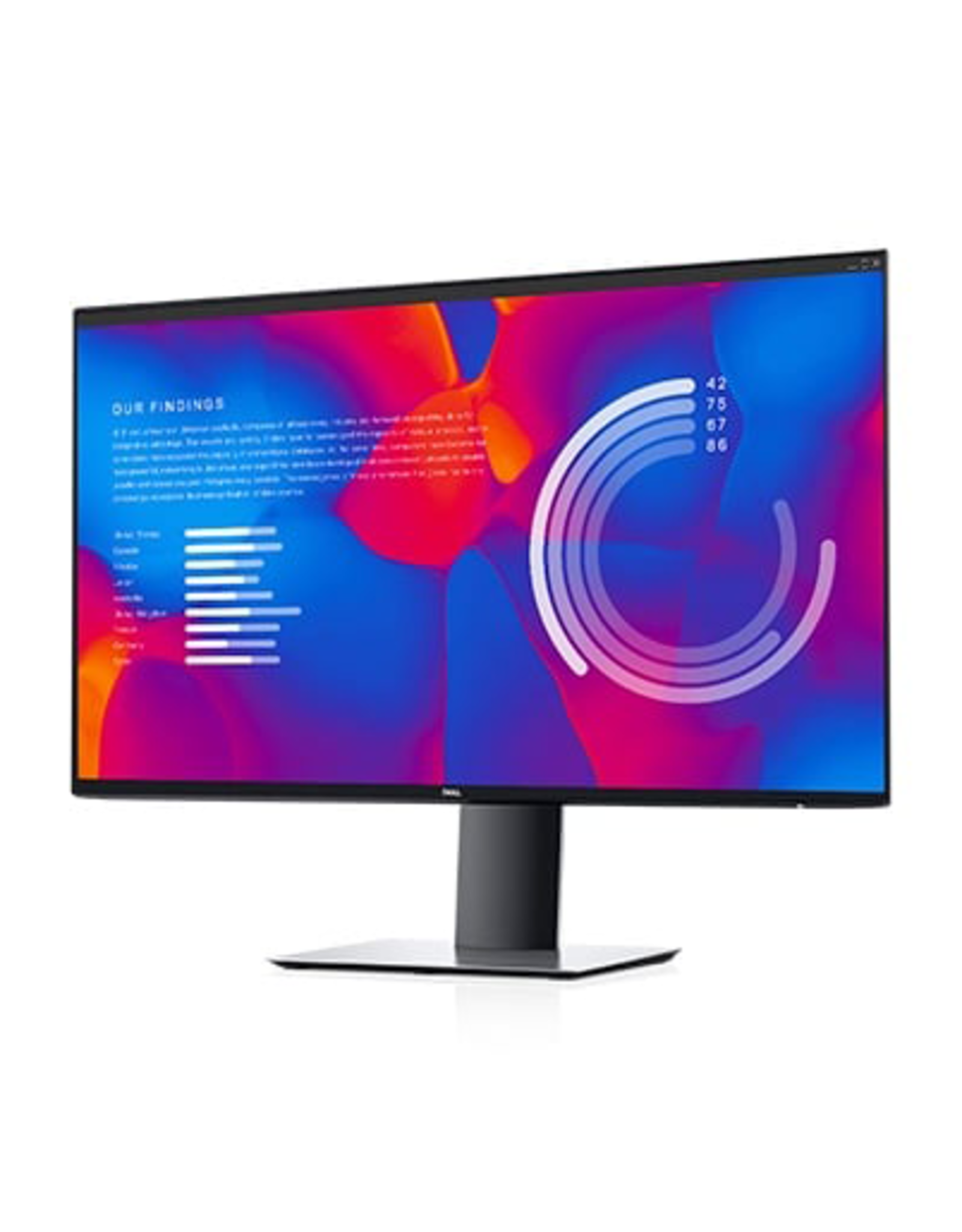Dell DELL UltraSharp 27 USB-C Monitor 16:9 IPS 2560x1440 60HZ 8ms height adjustable tilt swivel pivot VESA mount 100x100 HDMI/DisplayPort/USB-C/USB 3.0