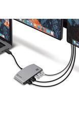 ALOGIC ALOGIC Thunderbolt 3 Portable HDMI Dock - ThunderBolt3 Dual HDMI 4K Display Dock with USB/Ethernet