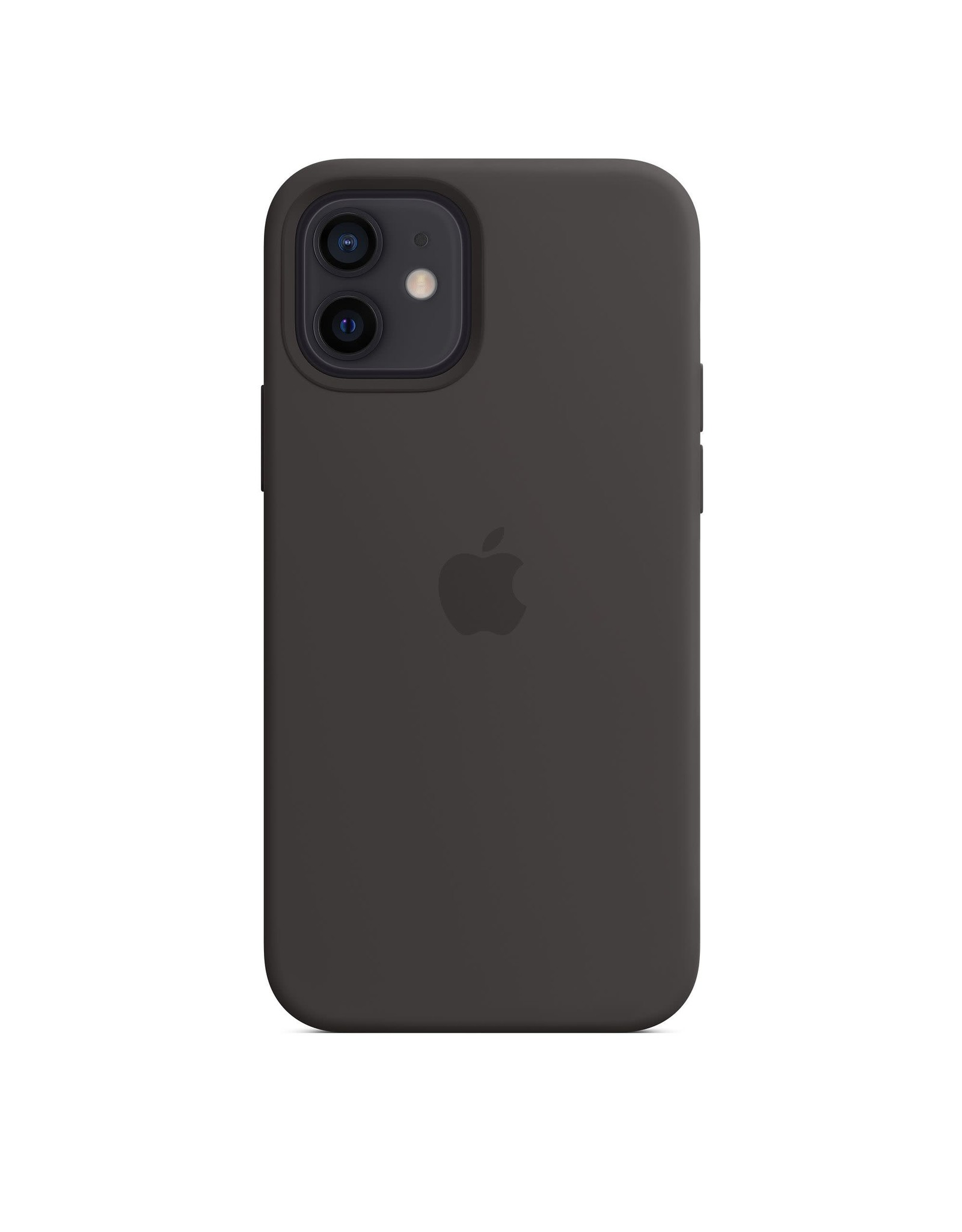 Apple Apple iPhone 12 | 12 Pro Silicone Case with MagSafe — Black