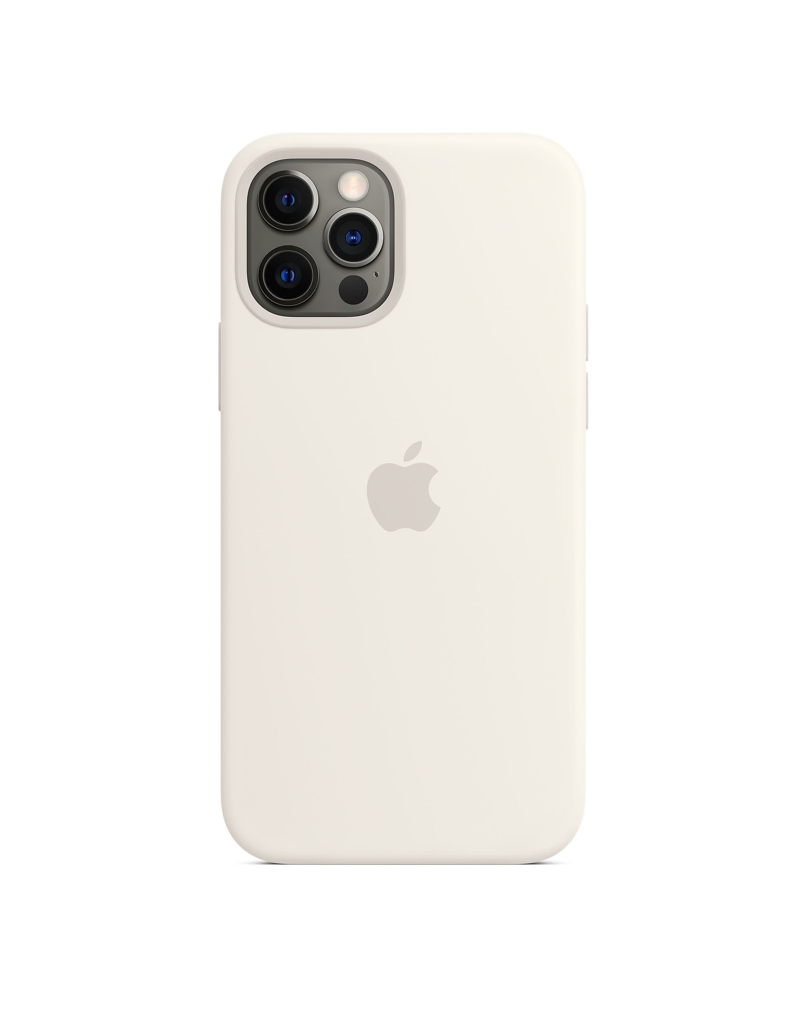 Apple Apple iPhone 12 | 12 Pro Silicone Case with MagSafe — White
