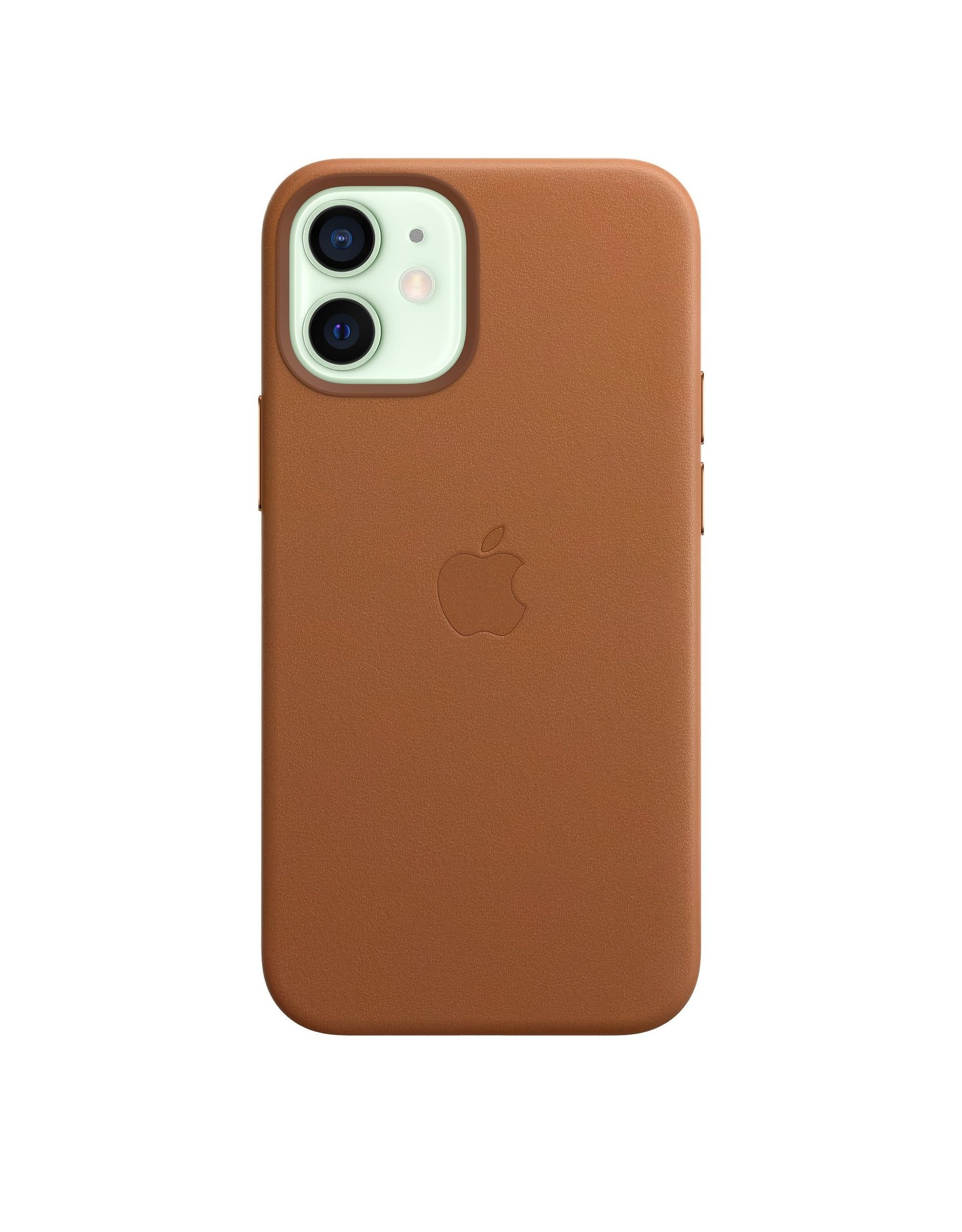 Apple Apple iPhone 12 mini Leather Case with MagSafe — Saddle Brown