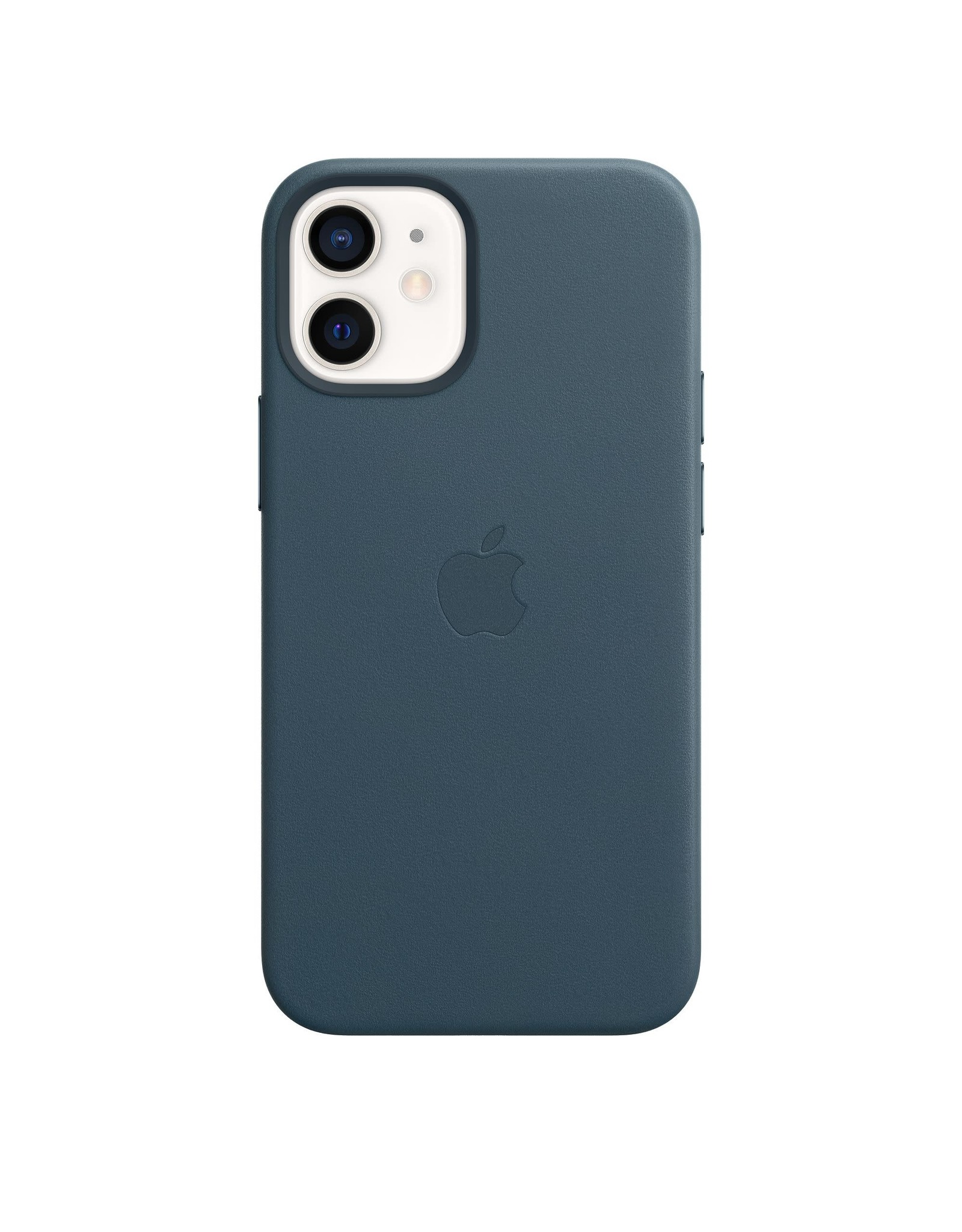 Apple Apple iPhone 12 mini Leather Case with MagSafe — Baltic Blue