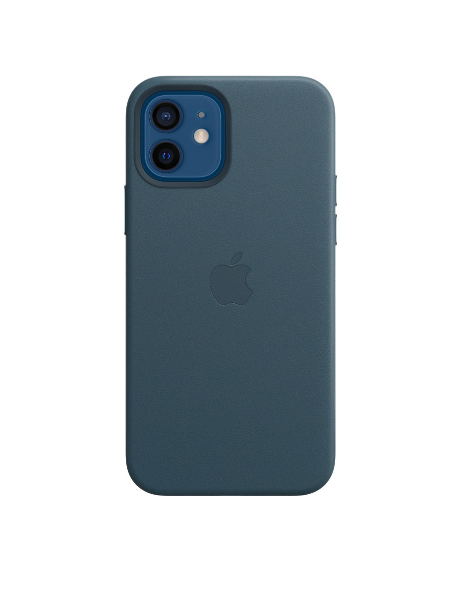 Apple Apple iPhone 12 | 12 Pro Leather Case with MagSafe - Baltic Blue
