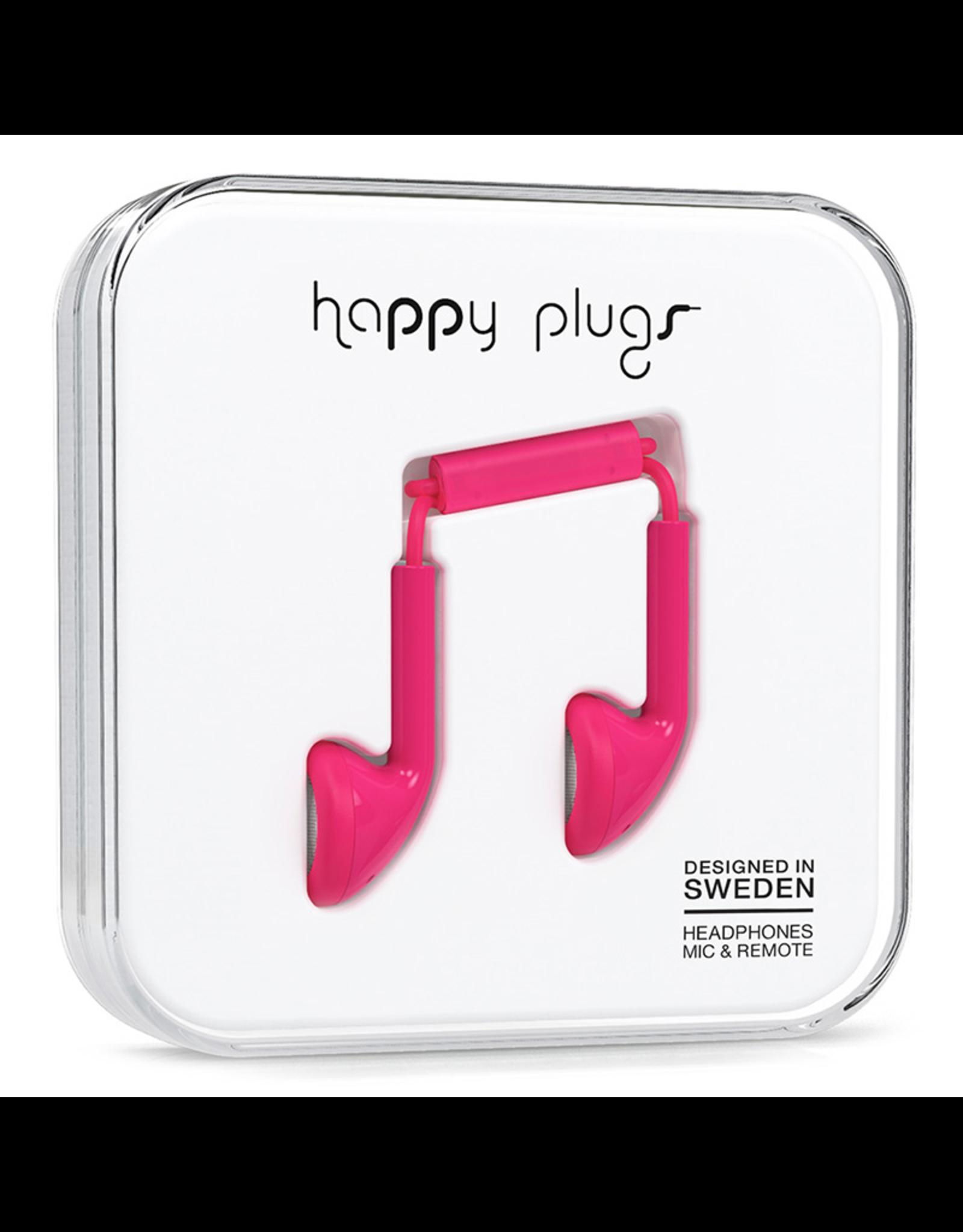 Happy Plugs Happy Plugs Earbud Cerise EOL