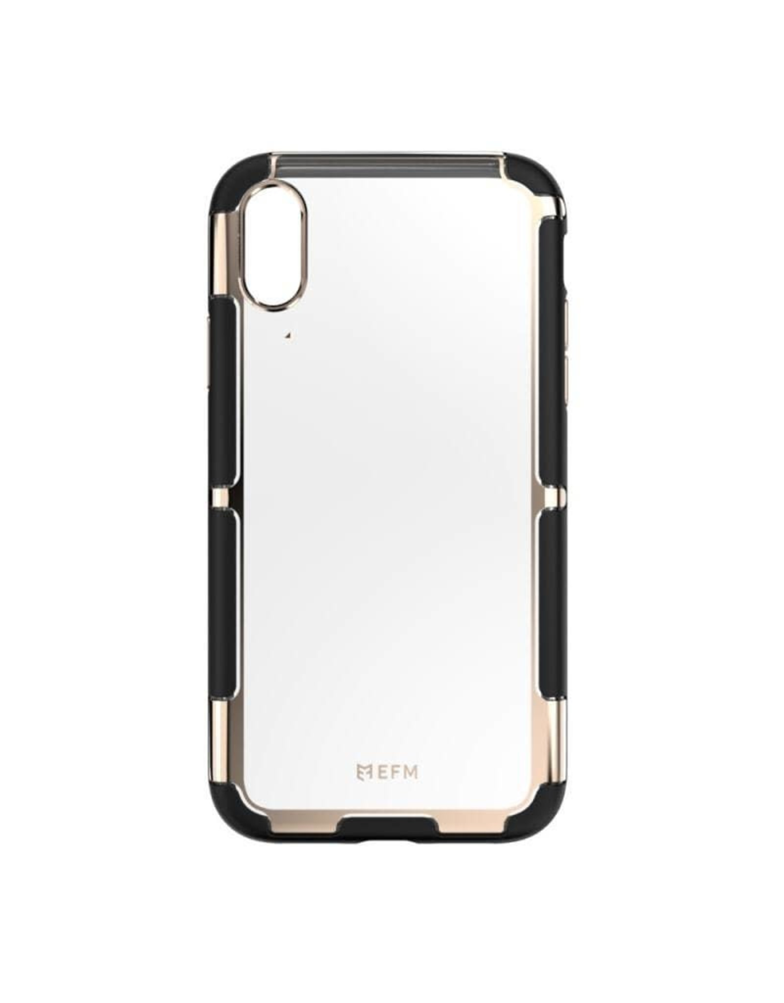 EFM EFM Cayman In-Style D3O Case Armour suits New iPhone Xr  - Gold Trim EOL
