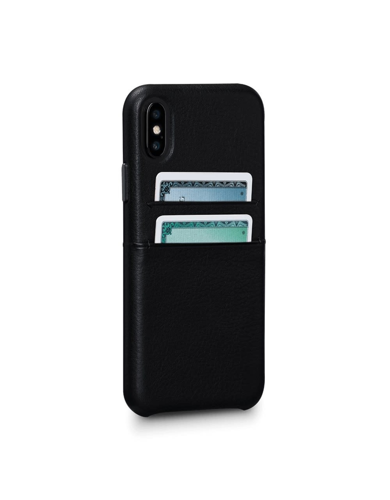 Sena Sena Bence LeatherSkin case for iPhone X - Black EOL
