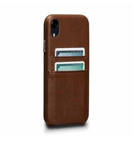 Sena Sena Bence Snap-on Leather Wallet case for iPhone X - Brown EOL