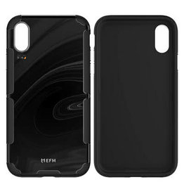 EFM EFM Cayman In-Style D3O Case Armour suits New iPhone Xs Max  - Black Marble/Gold EOL