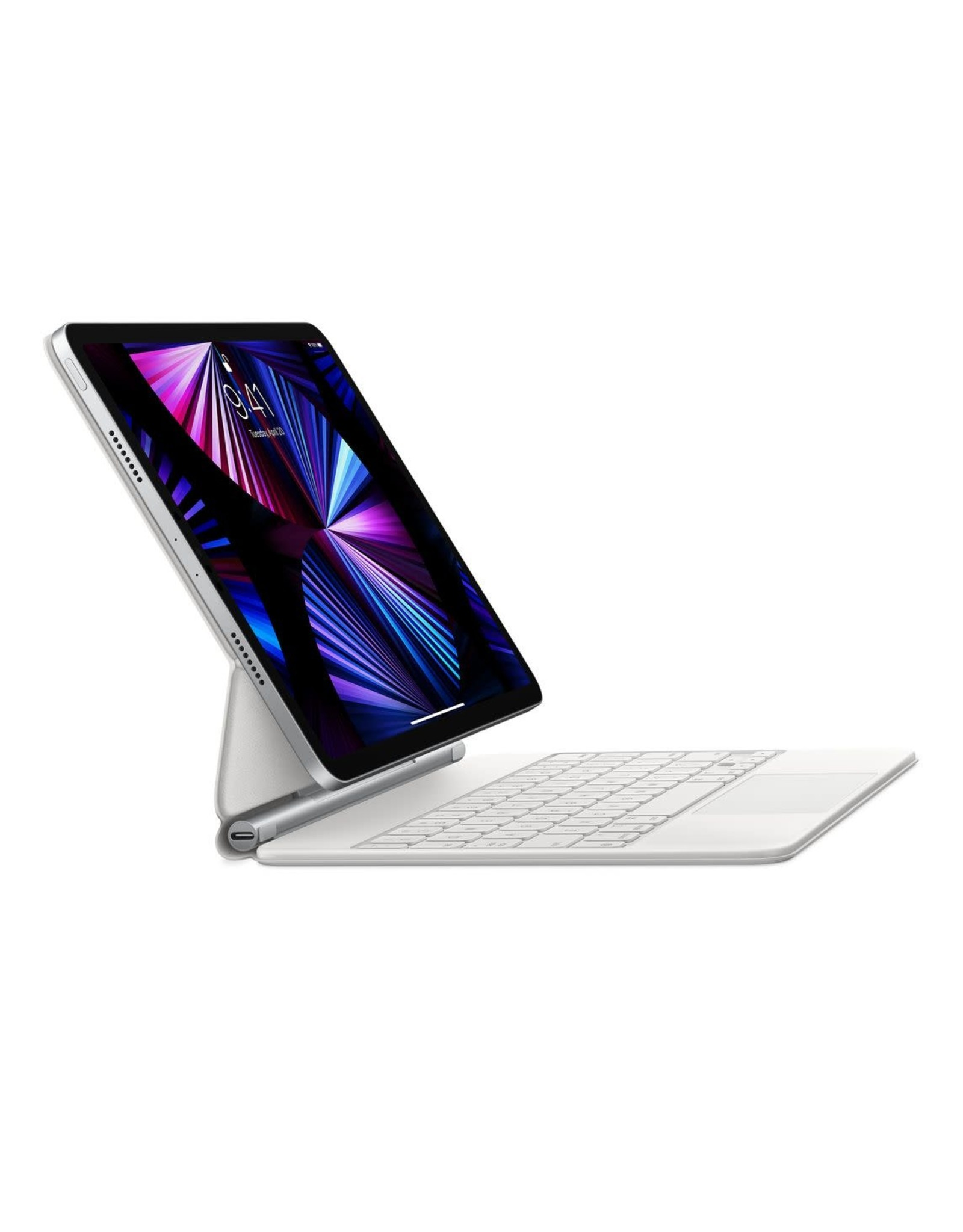 Apple Apple Magic Keyboard for iPad Pro 11-inch (1st/2nd/3rd gen) and iPad Air (4th gen) - White