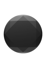 PopSockets PopSocket PopGrip Universal Grip Holder - Black Metallic Diamond