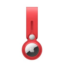 Apple Apple AirTag Leather Loop - (PRODUCT)RED