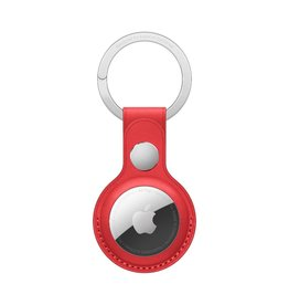 Apple Apple AirTag Leather Key Ring - (PRODUCT)RED