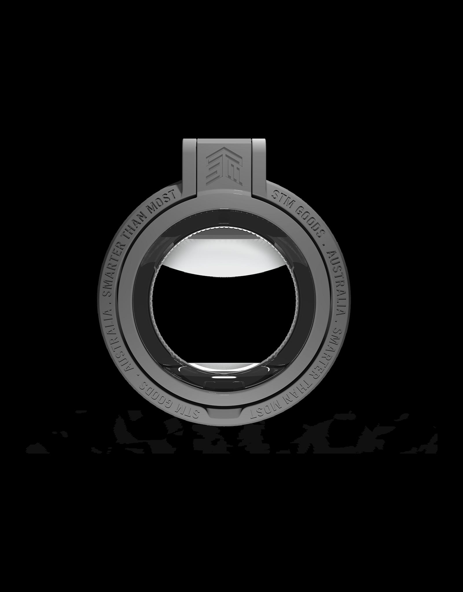 STM STM MAGLOOP Smarter MagSafe Accessory - GREY - kickstand, silicone finger loop, bottle opener