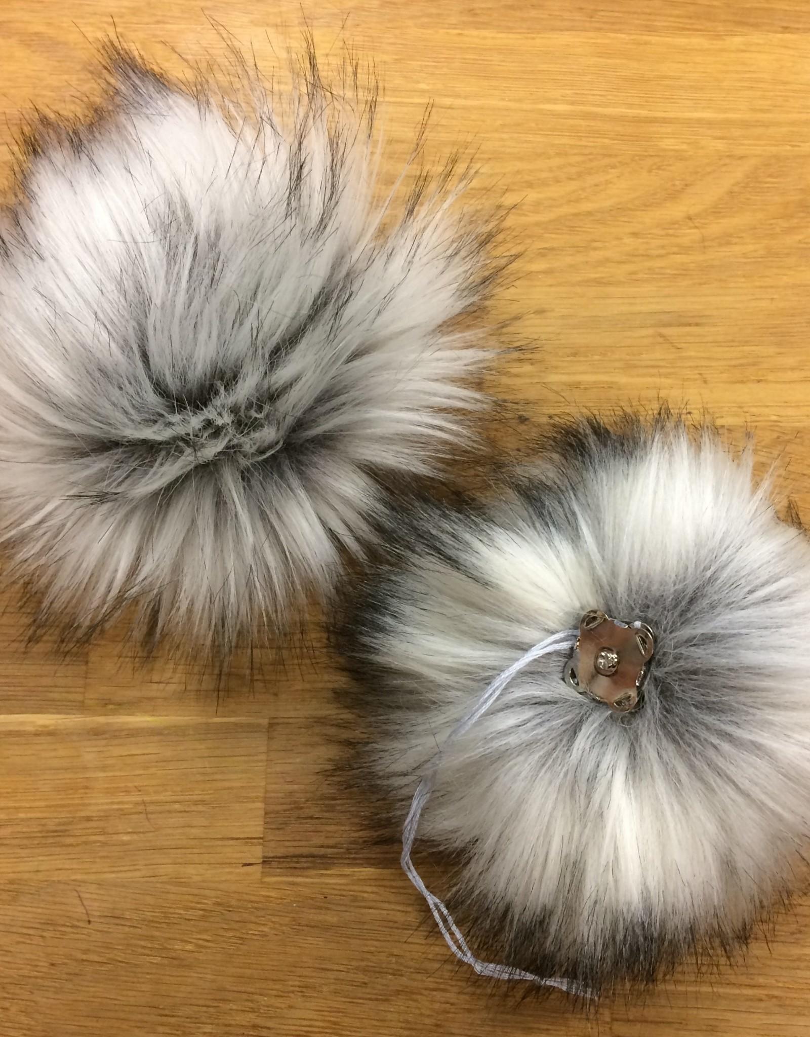Luxury Faux Fur Pom Pom by Trappings & Trinkets