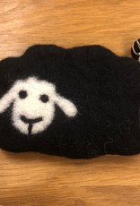 Baby Sheep felted notions bag