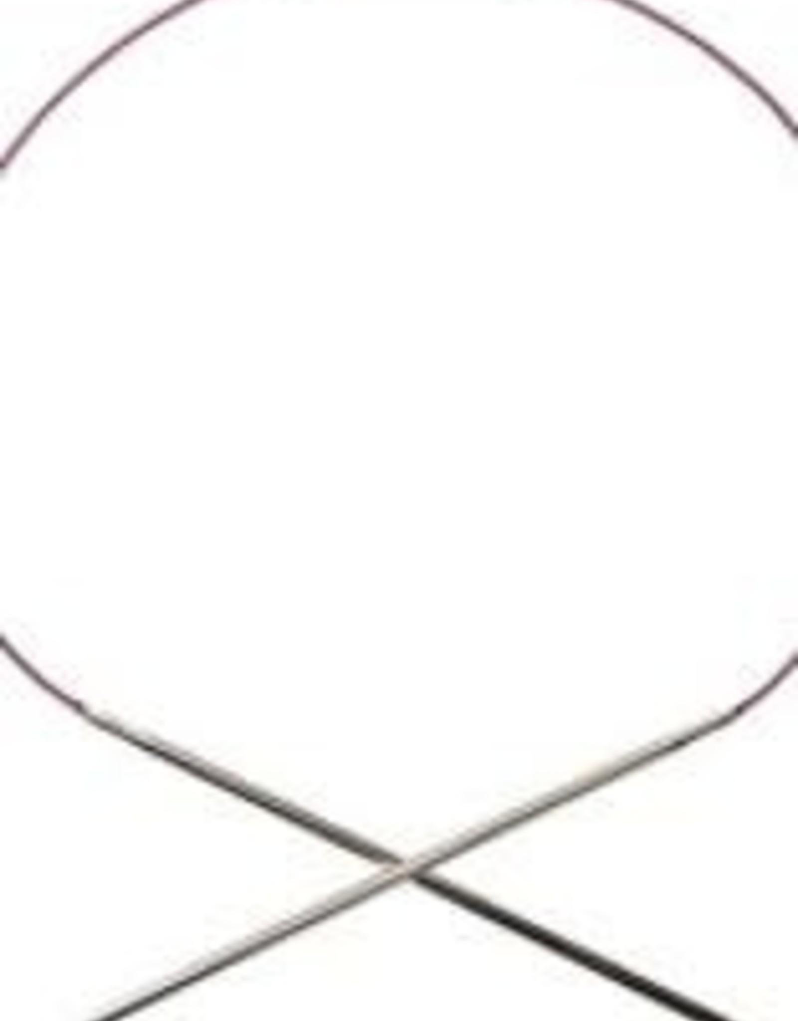 """Knitpicks 16"""" Nickel Plated  Circular Needle by KnitPicks"""