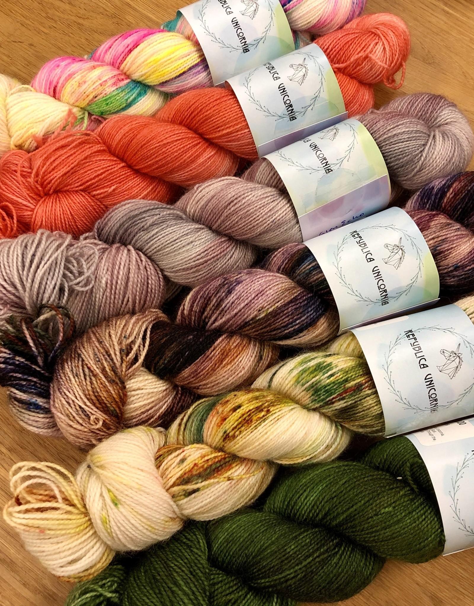 Republica Unicornia BFL 2-Ply Sock by Republica Unicornia