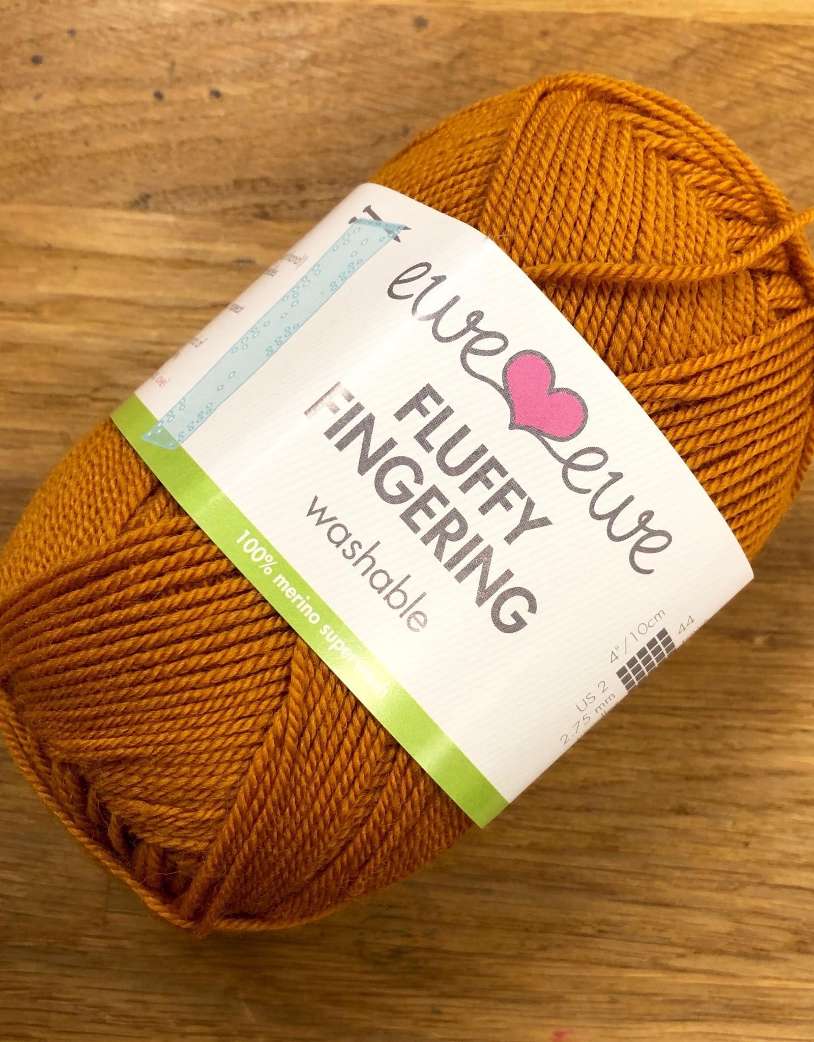 Ewe Ewe Fluffy Fingering -- Color Group 1