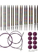 Knitpicks Rainbow IC Set US 4-11