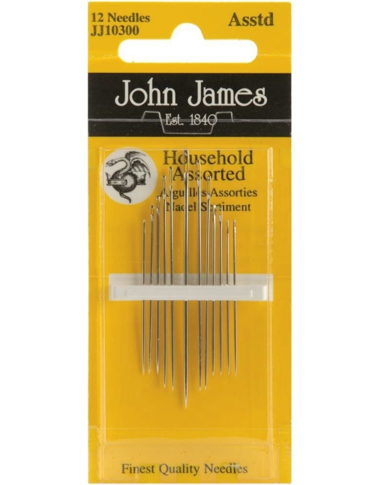 John James Household Hand Needles