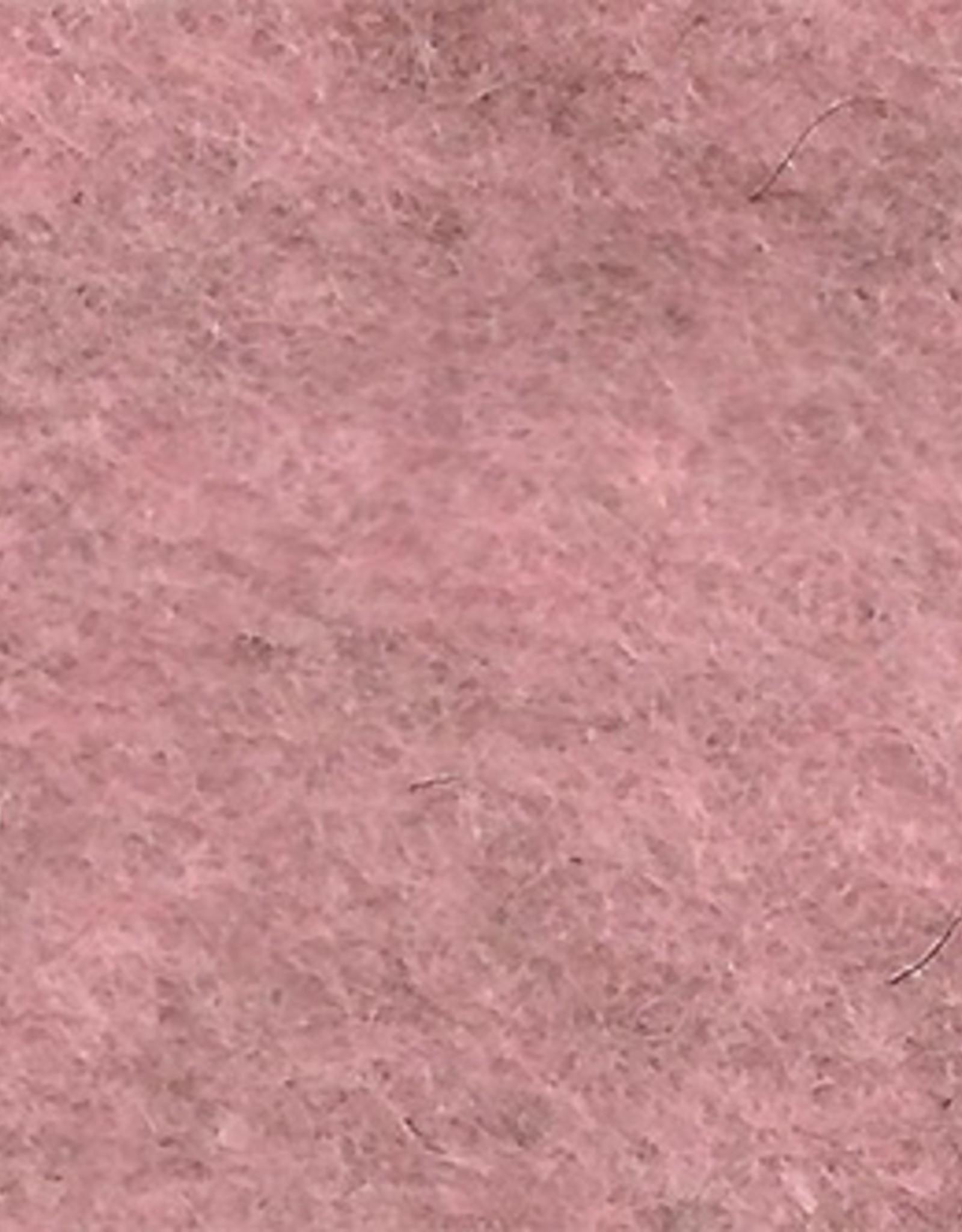 "Frescofelt Baby Pink 20x30cm (8""x12"") by De Witte Engel"