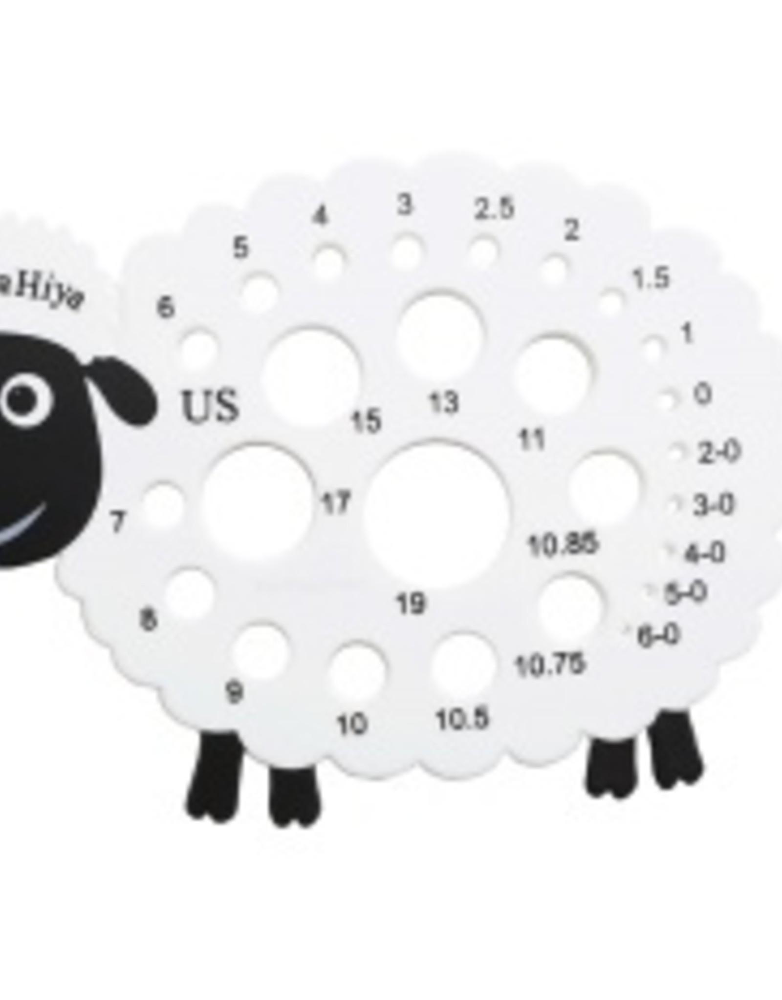 Hiya Hiya Sheep Needle Gauge