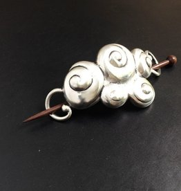 Jul Designs Jul Shawl Pin - Swirls