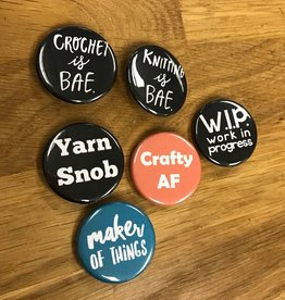 Consignment TL Yarn Craft Buttons