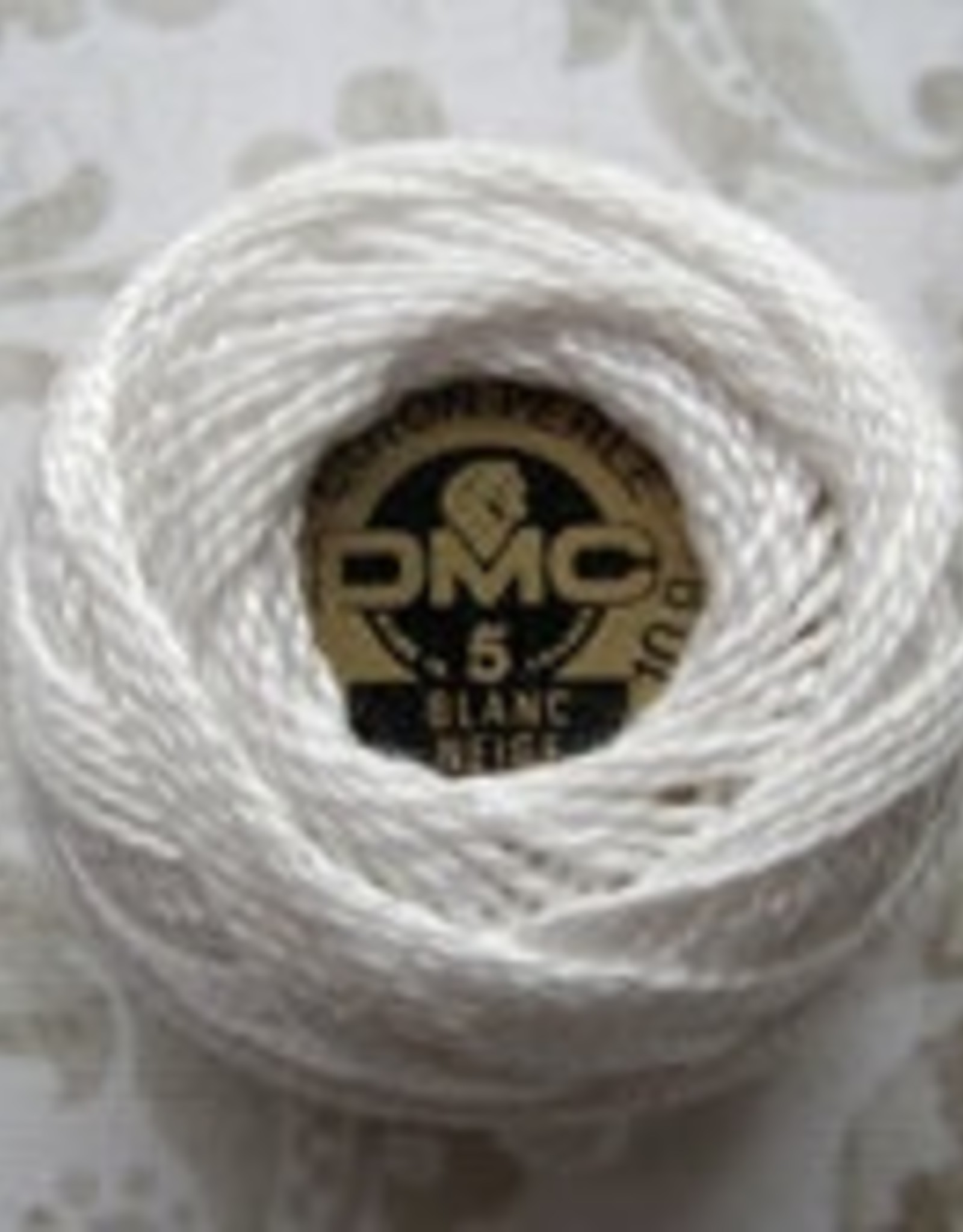 DMC Pearl Cotton Balls Size 8 - 87 Yards, White
