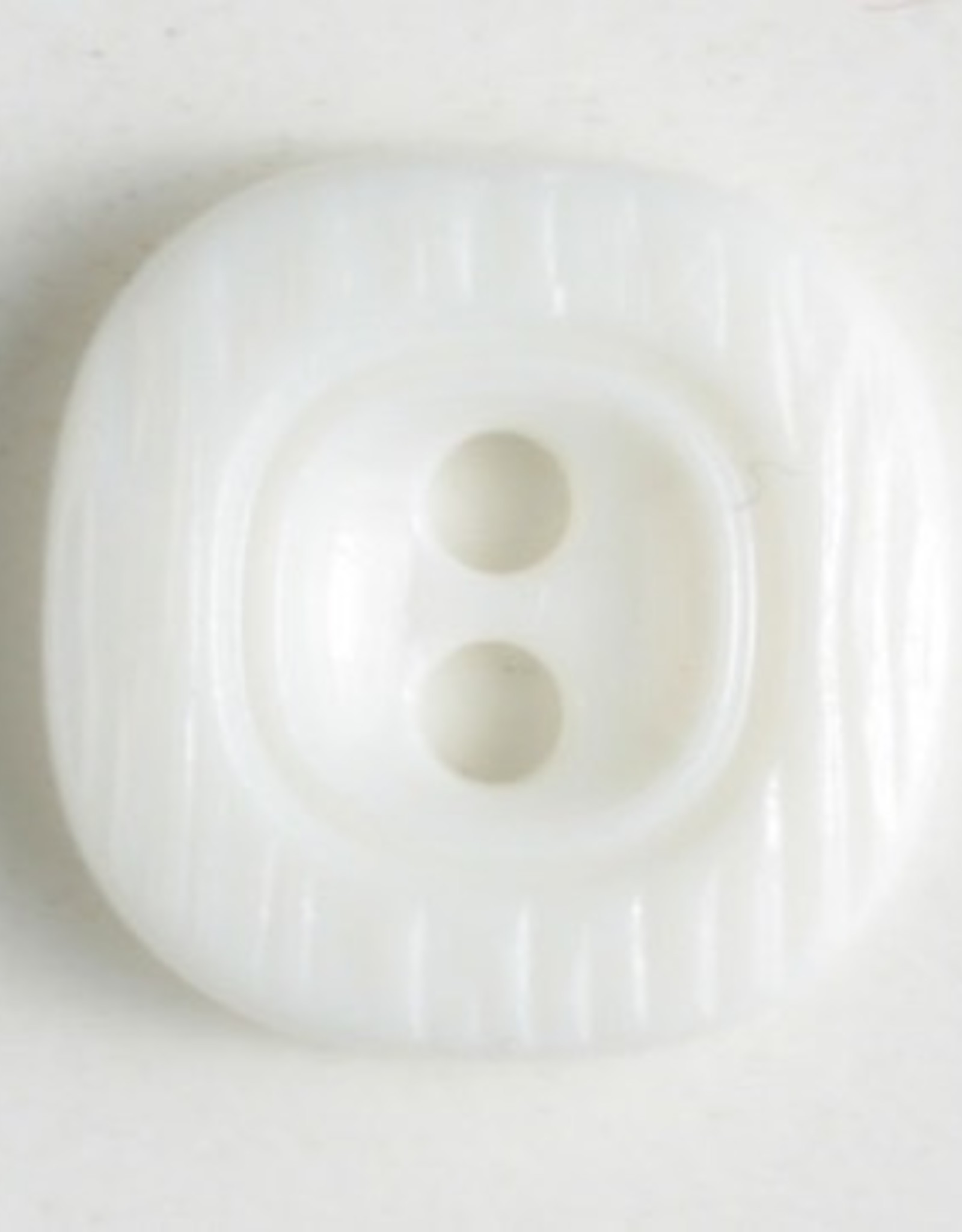 Dill Small Square Polyamide Button, 11mm